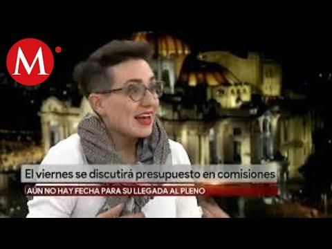 Sofía Ramírez Aguilar. Presupuesto para el 2020