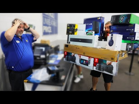 D-Strong - Best Buy Shopping Spree...What Would You Have Picked Up?
