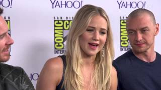 'X Men's Jennifer Lawrence on Her Role in the Franchise's Future    yahoomovies