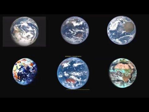 Earth Rotation Videos from Space agencies NASA, ROSCOSMOS, JAXA, ESA