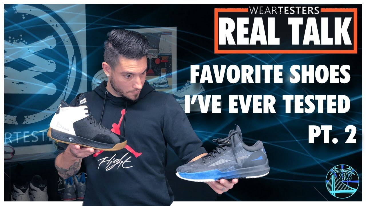 sports shoes 41d3e ad27a The BEST Basketball Shoes I've Ever Tested Pt. 2 | WearTesters Real Talk