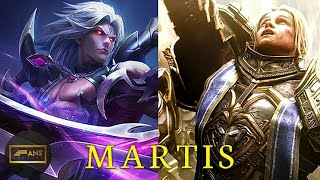 KISAH MARTIS HERO DARI MOBILE LEGENDS
