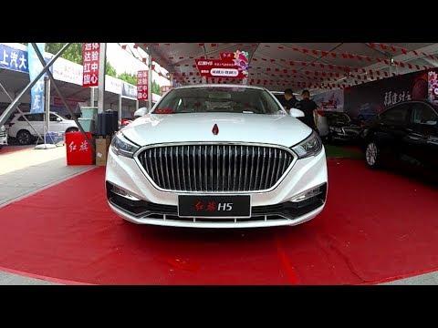 2019 FAW Hongqi H5 Sedan Walkaround- China Auto Show(2019款一汽红旗H5,外观与内饰实拍)