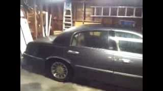 How To Fix Rain Water Leaking Into Passenger Side Floor - Lincoln Town Car / Mercury / Ford