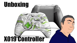 X019 controller Unboxing - Xbox One limited Edition of 1000