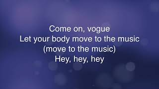 Vogue - Madonna (Lyrics)