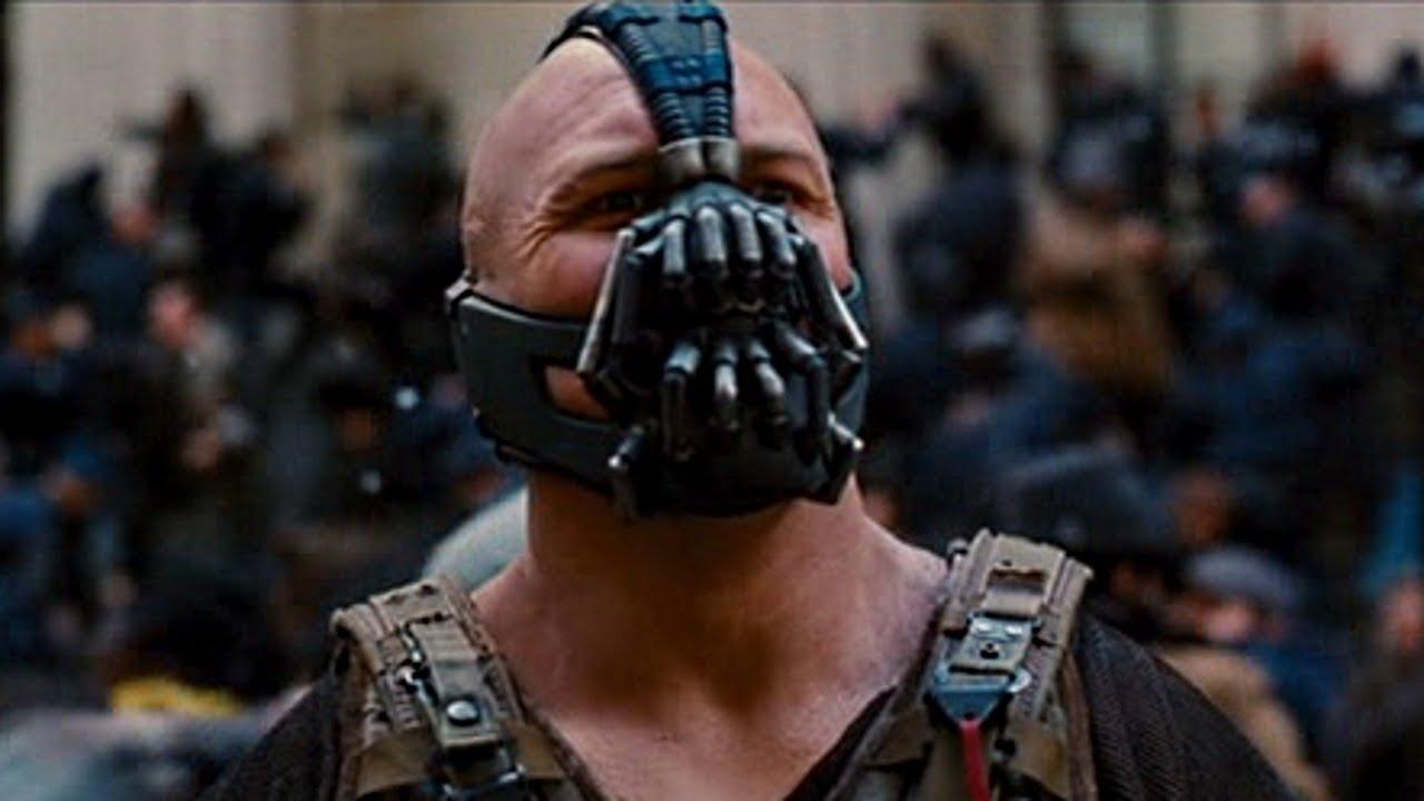 Batman Movie Villains Bane Tom Hardy Youtube