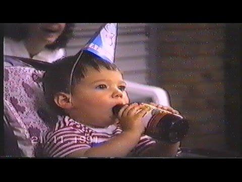 Aaron's 1 st Birthday   21 11 1991
