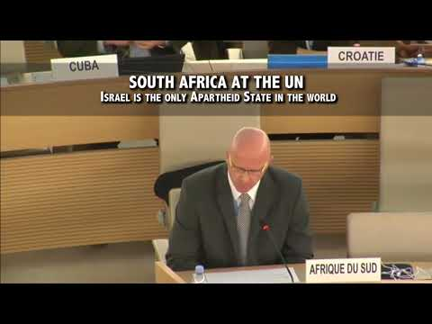 South Africa Slams Israel At The UN As An Apartheid State
