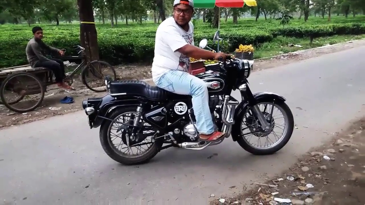 Royal Enfield Bullet 500 Standard Sound Without Exhaust