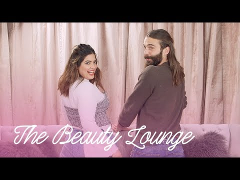 How To Nail a Half Bun With Jonathan Van Ness    The Beauty Lounge   Cosmopolitan