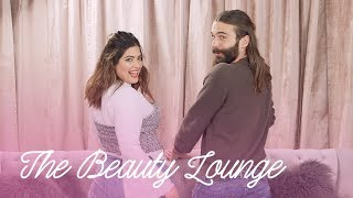 How To Nail a Half Bun With Jonathan Van Ness  | The Beauty Lounge | Cosmopolitan
