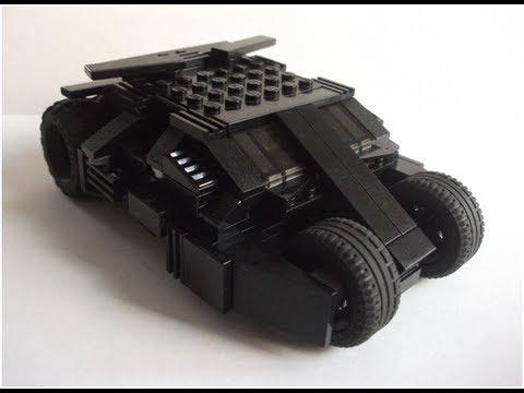 Batman The Dark Knight Car Wallpaper How To Make A Lego Tumbler V2 Youtube