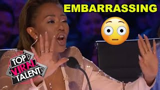 JUDGE GET'S IT WRONG! Embarrassing MOMENT But His AUDITION Puts A SMILE ON EVERYONES FACE
