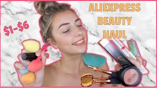 ALIEXPRESS MAKEUP HAUL 2019! Affordable! Top Rated Makeup and Beauty tools! HONEST REVIEW