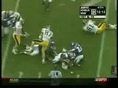 Deante Battle Northwestern Wildcats Football Highlights - SportsTakeoff.com