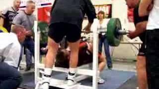 Andrey Butenko - Bench Press 2004 Canadians 230 kg