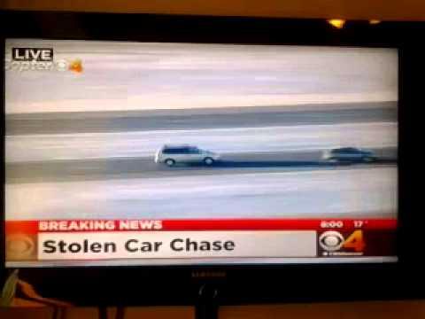 DENVER,CO NEWS! Channel 4-Car Chase