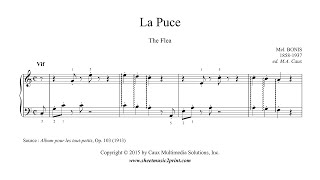 Mel Bonis : La Puce - The Flea