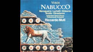 Giuseppe Verdi - Nabucco - 02-Gli arredi festivi gi  cadano