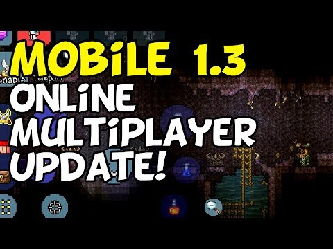 Terraria Mobile 1.3 Online Multiplayer News Update [iOS, Android]