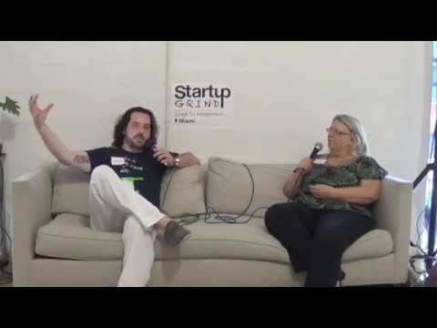 Nancy Dahlberg (Miami Herald Starting Gate) at Startup Grind Miami