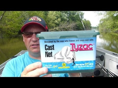 Cast Nets In Minnesota Are Now Legal!  How To Throw And What To Buy.