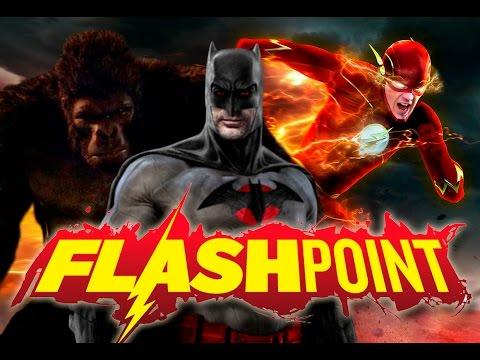 Flashpoint - Todo lo que veremos