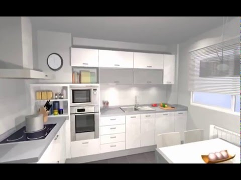 Completa cocina con zona lavadero y zona de plancha arredo for Modelos de lavaderos para cocina