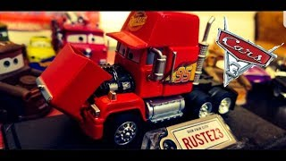 Disney Cars 3 Precision Series Mack | NEW 2018 Mattel (Opening Hood Feature) Diecast!