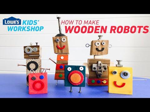 how-to-make-wooden-robots-|-kids'-diy-workshop