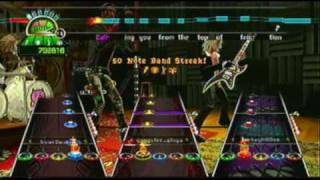 Guitar Hero World Tour Hail to the Freaks(Expert Full Band)