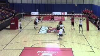Keith West Stuff Block: U of C Dinos Volleyball