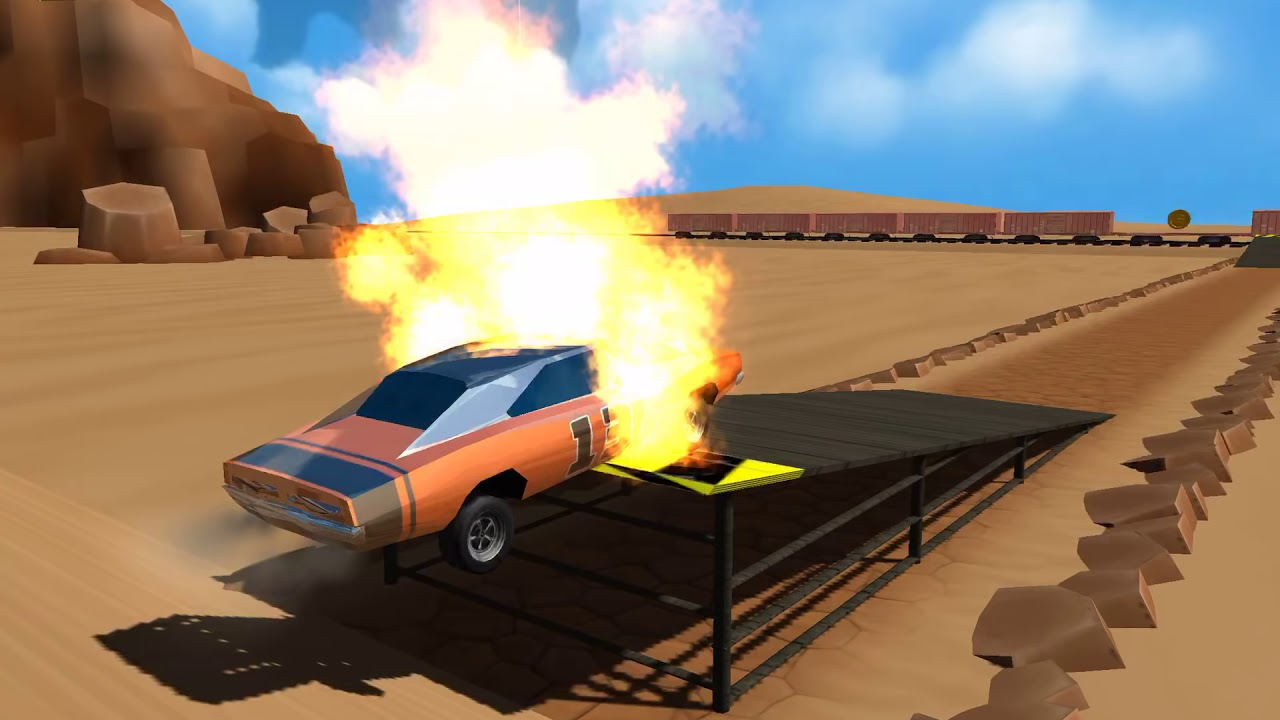 STUNT CAR CHALLENGE 3 Android / iOS Gameplay Video | New Game without Cheats | Arizona Levels