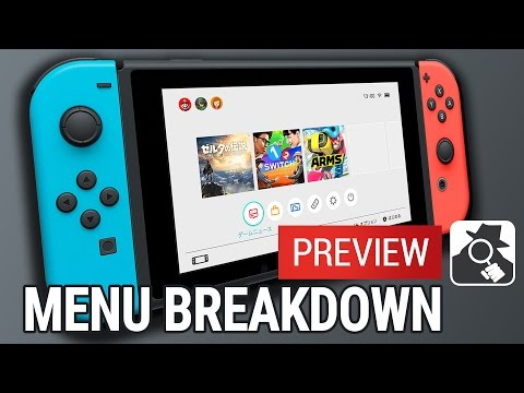 NINTENDO SWITCH UI: EVERYTHING YOU NEED TO KNOW