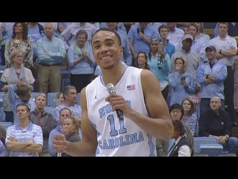UNC Men's Basketball: Brice Johnson's Senior Night Speech