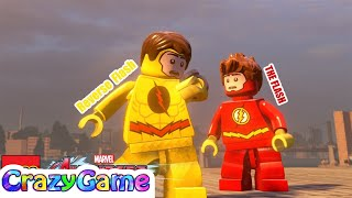 The Flash & Reverse Flash Free Roam in LEGO MARVEL's Avengers MOD