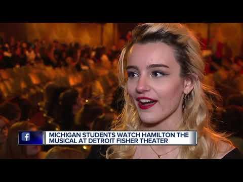 Metro Detroit students experience hit play 'Hamilton' thanks to grants, show's education program