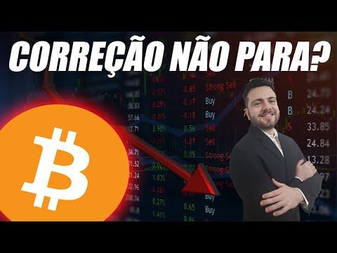 Bitcoin Correção NÃO PARA? Análise Técnica Bitcoin