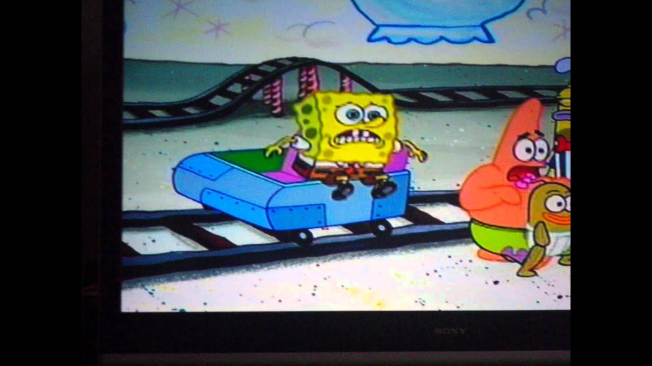 Spongebob glove world roller coaster