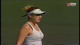 Errani Sara v Bencic Belinda - 2017 ITF Dubai