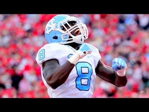 Fastest RB in College Football || North Carolina RB TJ Logan Career Highlights ᴴᴰ
