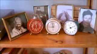 Old alarm clocks: Junghans  & Sevani & Vityaz (USSR)