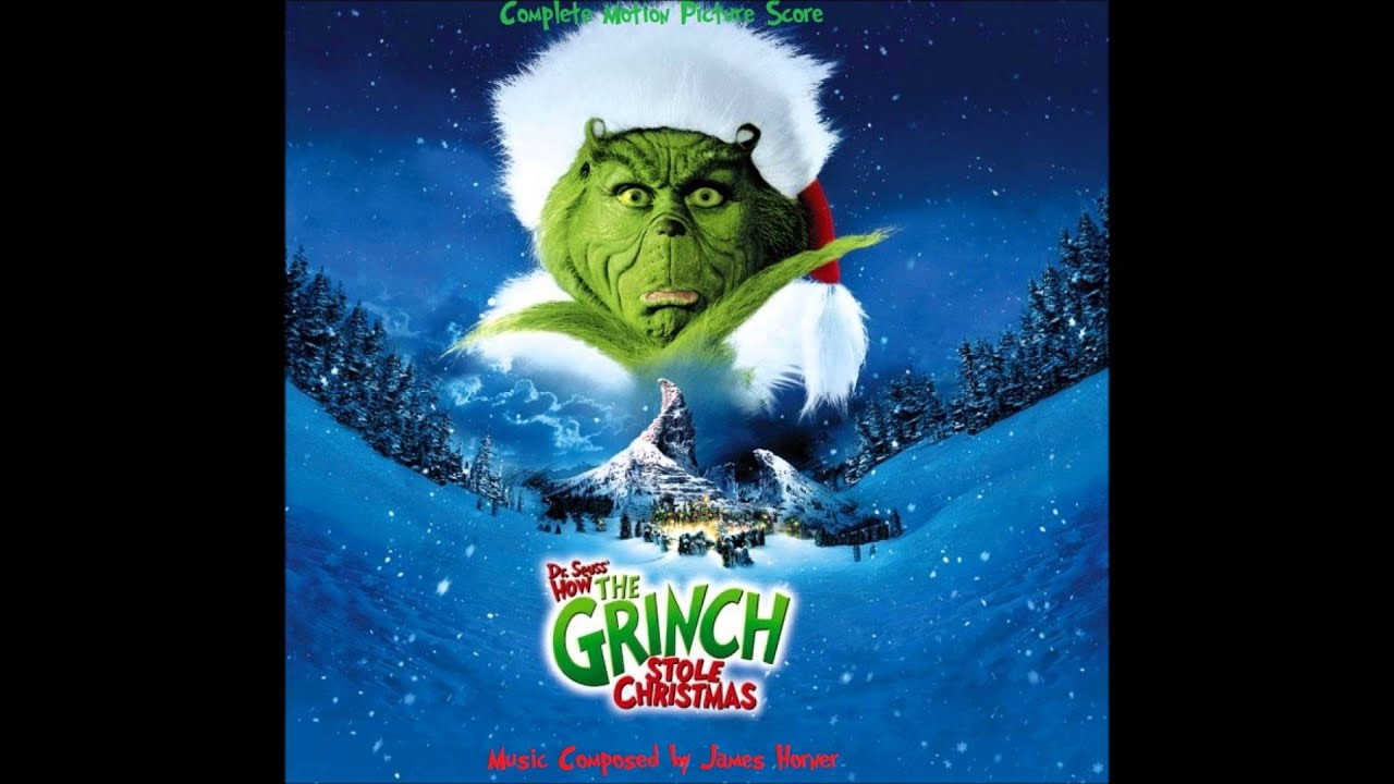 how the grinch stole christmas complete score happy who lidays youtube