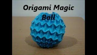 Origami Magic Ball designed by Yuri Shamakov (Not a Tutorial) Thumbnail