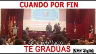Graduación a lo CR7