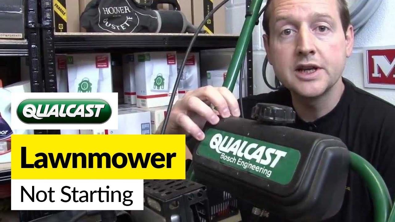 How To Fix A Petrol Lawnmower That Wont Start Youtube Rover Mower Wiring Diagram