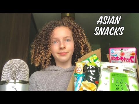 ASMR | TRYING ASIAN SNACKS! DO I LIKE IT? from YouTube · Duration:  11 minutes