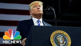 President Donald Trump Speaks At Campaign Rally In Indiana   NBC News