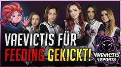 Gekickt für Feeding! Girl Team Vaevictis Esports LCL [League of Legends]